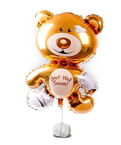 Ballon Bär Get Well Soon